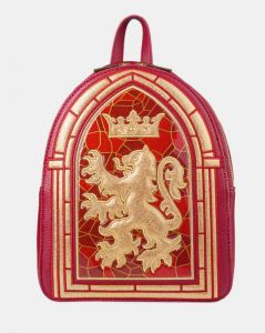 Harry Potter: Gryffindor Stained Glass Danielle Nicole Backpack