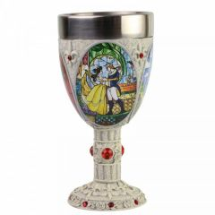 Beauty and the Beast: Tale As Old As Time Decorative Goblet
