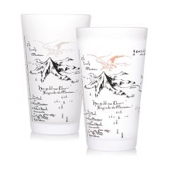 The Hobbit: All Mapped Out Cold Change Glass
