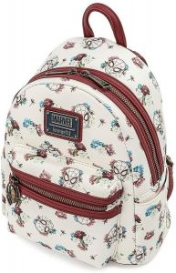Spider-Man: Floral Loungefly Mini Backpack
