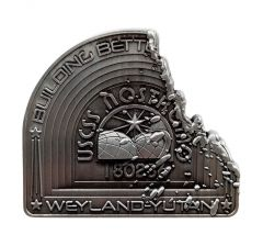 Alien: Nostromo Limited Edition Metal Plaque