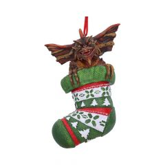 Gremlins: Mohawk In Stocking Hanging Ornament Preorder
