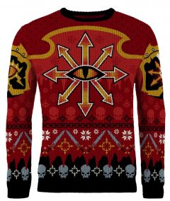 Warhammer 40,000: Chaos Reigns Khorne Ugly Christmas Sweater