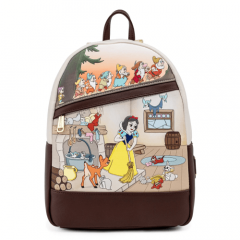 Snow White and the Seven Dwarves: Multi Scene Loungefly Mini Backpack