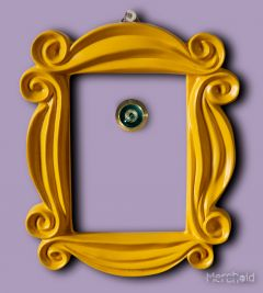 Friends: Apartment Peephole Frame Replica