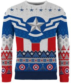 Captain America: New and Improved Sam Wilson Christmas Sweater/Jumper