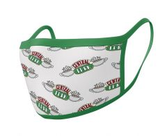 Friends: Central Perk Face Mask (Pack of 2)