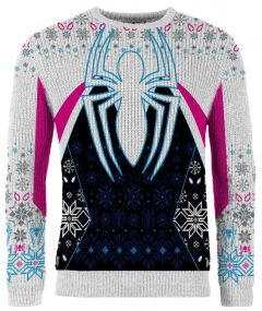 Spider-Gwen: Ghost Of Multiverse Present Knitted Christmas Sweater