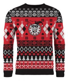 Harley Quinn: Home for the Harley-days Christmas Sweater/Jumper