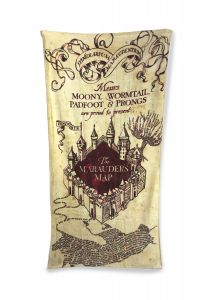 Harry Potter: 'Drying Managed' Marauder's Map Towel