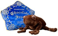 Harry Potter: Comfort Food Chocolate Frog Plush and Pillow