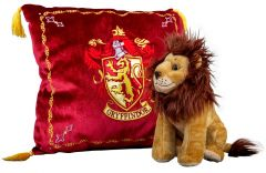 Harry Potter: Glorious Gryffindor House Mascot Plush & Cushion Set