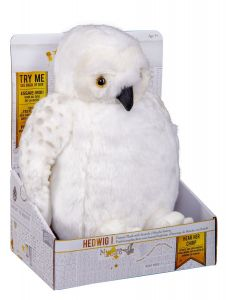 Harry Potter: Swoop And Deliver Hedwig Puppet Plush with Sounds