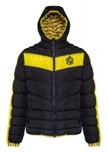Harry Potter: Premium Hufflepuff Padded Unisex Jacket