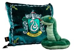 Harry Potter: Snuggly Slytherin House Mascot Plush & Cushion Set