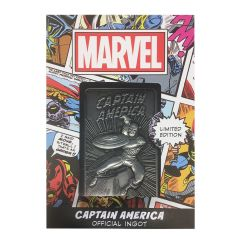 Marvel: Captain America Limited Edition Ingot Preorder