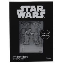 Star Wars: 'My Only Hope' Limited Edition Ingot