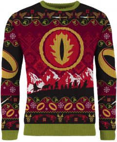 Lord of The Rings: One Gold Ring Christmas Sweater/Jumper