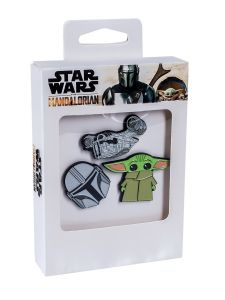 Star Wars: The Mandalorian 3 Pin Set