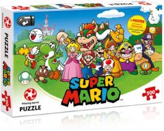 Super Mario: Friends 500pc Puzzle