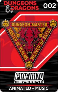 Dungeons & Dragons: Dungeon Master Pinfinity AR Pin Badge Preorder