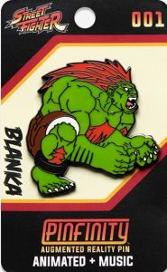 Street Fighter: Blanka Pinfinity AR Pin Badge Preorder