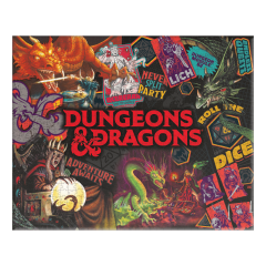 Dungeons & Dragons: 1000pc Jigsaw Puzzle