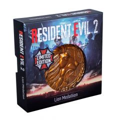 Resident Evil 2: Lion Limited Edition Metal Replica R.P.D. Medallion  Preorder