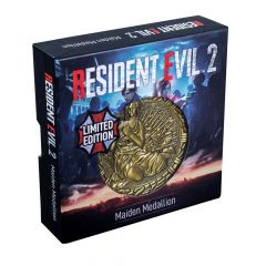 Resident Evil 2: Maiden Limited Edition Metal Replica R.P.D. Medallion  Preorder