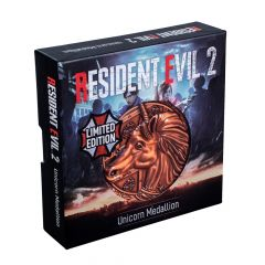 Resident Evil 2: Unicorn Limited Edition Metal Replica R.P.D. Medallion  Preorder