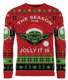 Star Wars: The Season To Be Jolly It Is Ugly Christmas Sweater