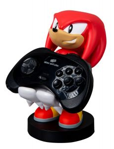 Sonic The Hedgehog: Knuckles 8 inch Cable Guy Phone and Controller Holder