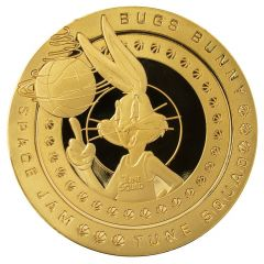 Space Jam A New Legacy: Bugs Bunny Collectible Coin