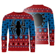 Spider-Man: Swingin' Through The Snow Knitted Christmas Sweater