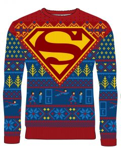 Superman: Seasonal Suit Up Knitted Christmas Sweater