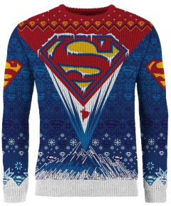 Superman: Seasonal Solitude Christmas Sweater