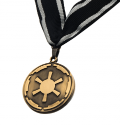 Star Wars: The Mandalorian Client Cog Medallion Prop Replica