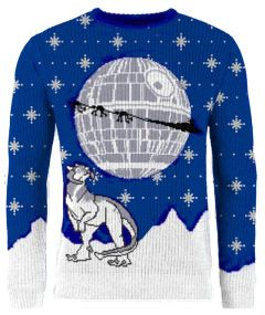 Star Wars: Tauntaun Tidings Knitted Christmas Sweater