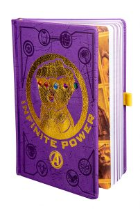Avengers: It's A Simple Calculus Infinity Gauntlet LED Notebook