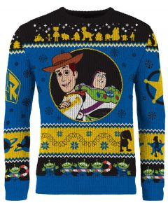 Toy Story: To Festivities And Beyond Knitted Christmas Sweater