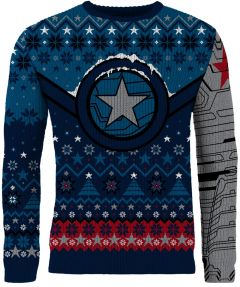 The Winter Soldier: Star Of Bucky Christmas Sweater/Jumper