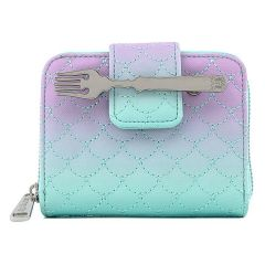 The Little Mermaid: Ombre Scales Loungefly Zip Around Purse