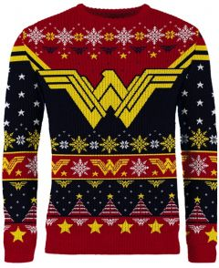 Wonder Woman: The Most Wonder-ful Time Of The Year Ugly Christmas Sweater