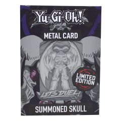 Yu-Gi-Oh!: Summoned Skull Limited Edition Metal Card Preorder