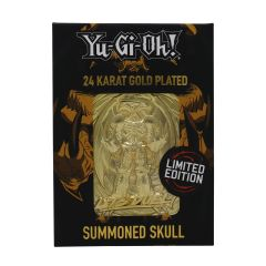 Yu-Gi-Oh!: Summoned Skull Limited Edition 24K Gold Plated Metal Card Preorder