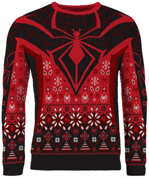 Spider-Man: Christmas in Brooklyn Miles Morales Christmas Sweater/Jumper