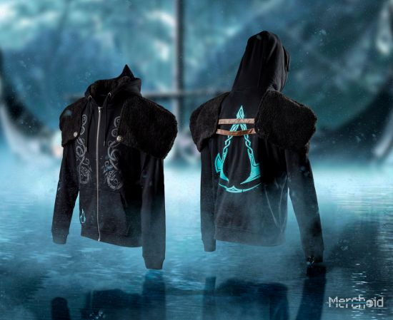 Assassin's Creed Valhalla: Casual Viking Style Cosplay Hoodie - Merchoid
