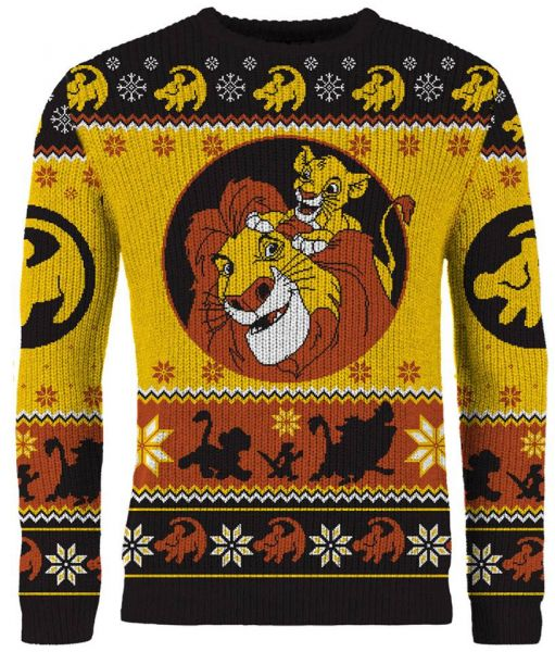 Lion King: Hakuna Holidays Knitted Christmas Sweater Merchoid