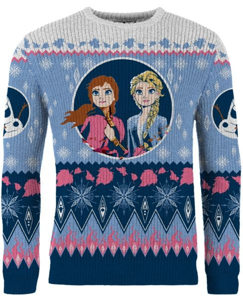 Frozen: Let It Snow Ugly Christmas Sweater/Jumper