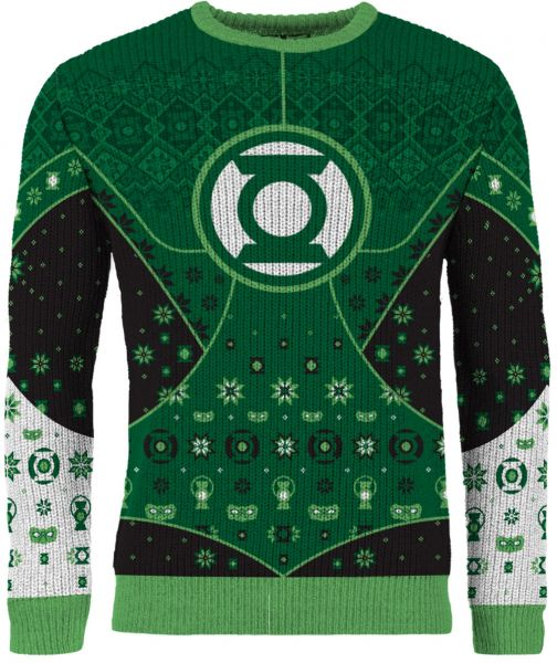 """Green Lantern: """"Guardian of Christmas"""" Ugly Christmas Sweater/Jumper"""